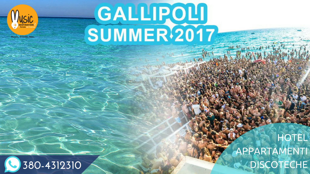 gallipoli estate 2017 vacanze