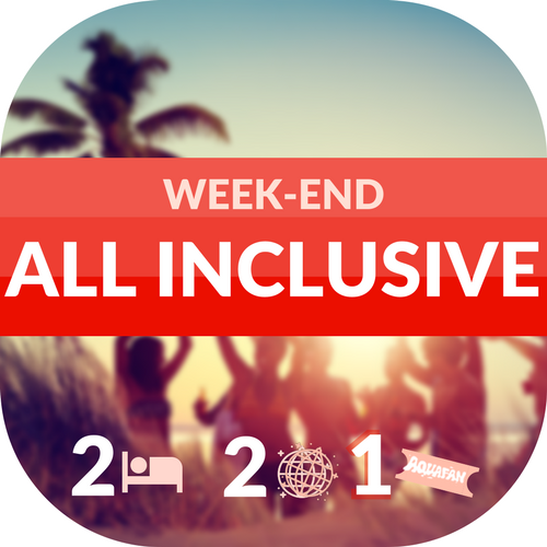 pulsante weekend all inclusive
