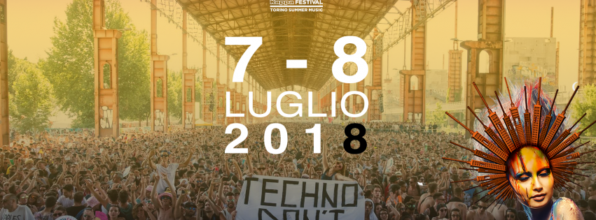 Kappa Futur Festival 2018 Turin Ticket and Hotel Package