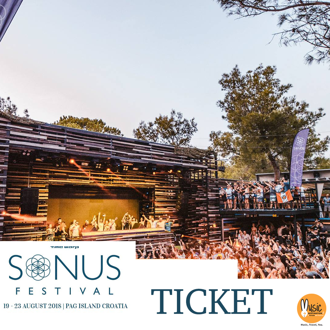 SONUS FESTIVAL 2018 ticket OFFICIAL