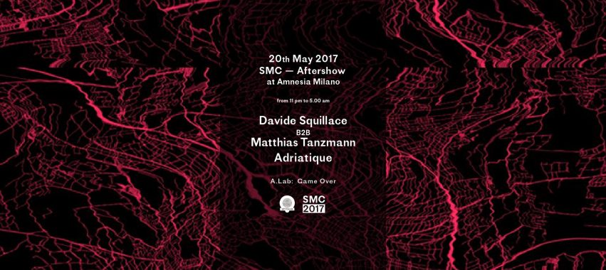 Social Music City | AFTERSHOW @ Amnesia – Sabato 20 Maggio 2017