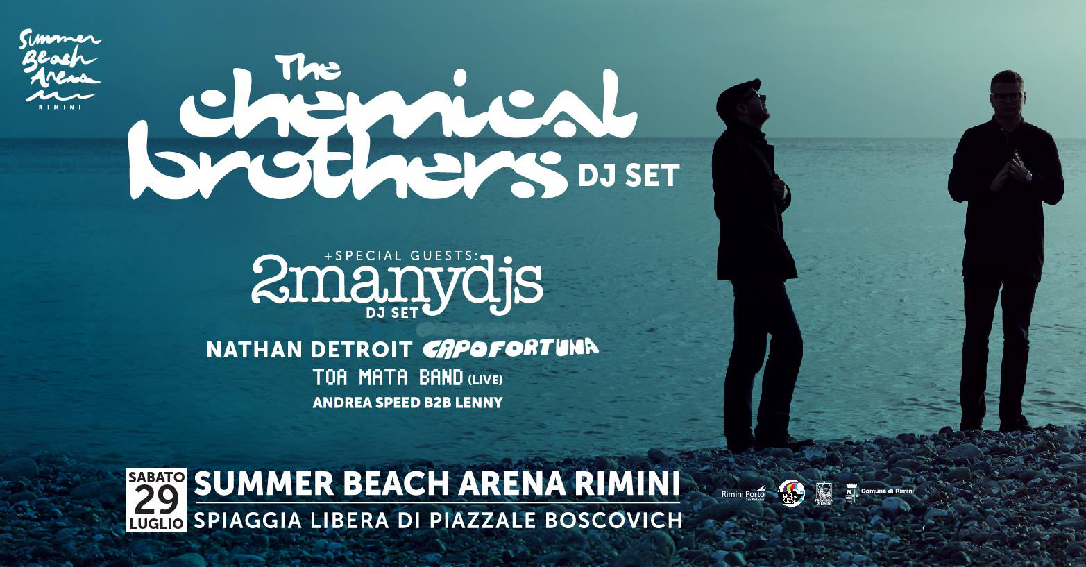 Chemical Brothers – Summer Beach Arena – 29 Luglio 2017