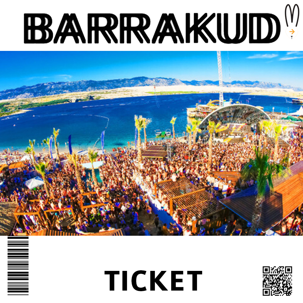 BARRAKUD FESTIVAL TICKET