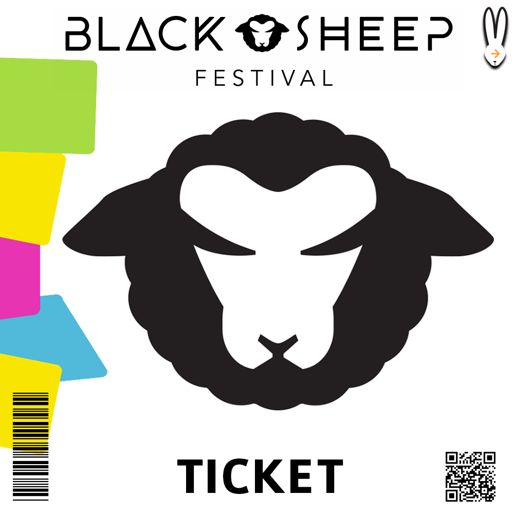 BLACK SHEEP FESTIVAL TICKET