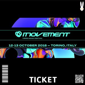 ticket MOVEMENT TORINO MUSIC FESTIVal