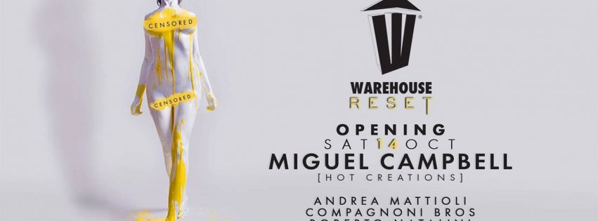 warehouse 14 ottobre 2017 opening party