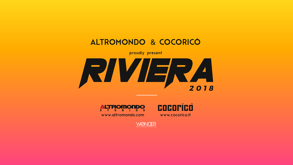 ESTATE 2018 IN RIVIERA, COCORICO E ALTROMONDO LA TOCCANO PIANO