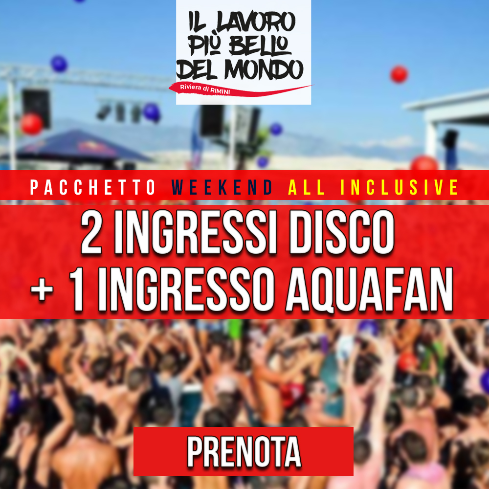 Pacchetto WEEKEND ALL INCLUSIVE1LV