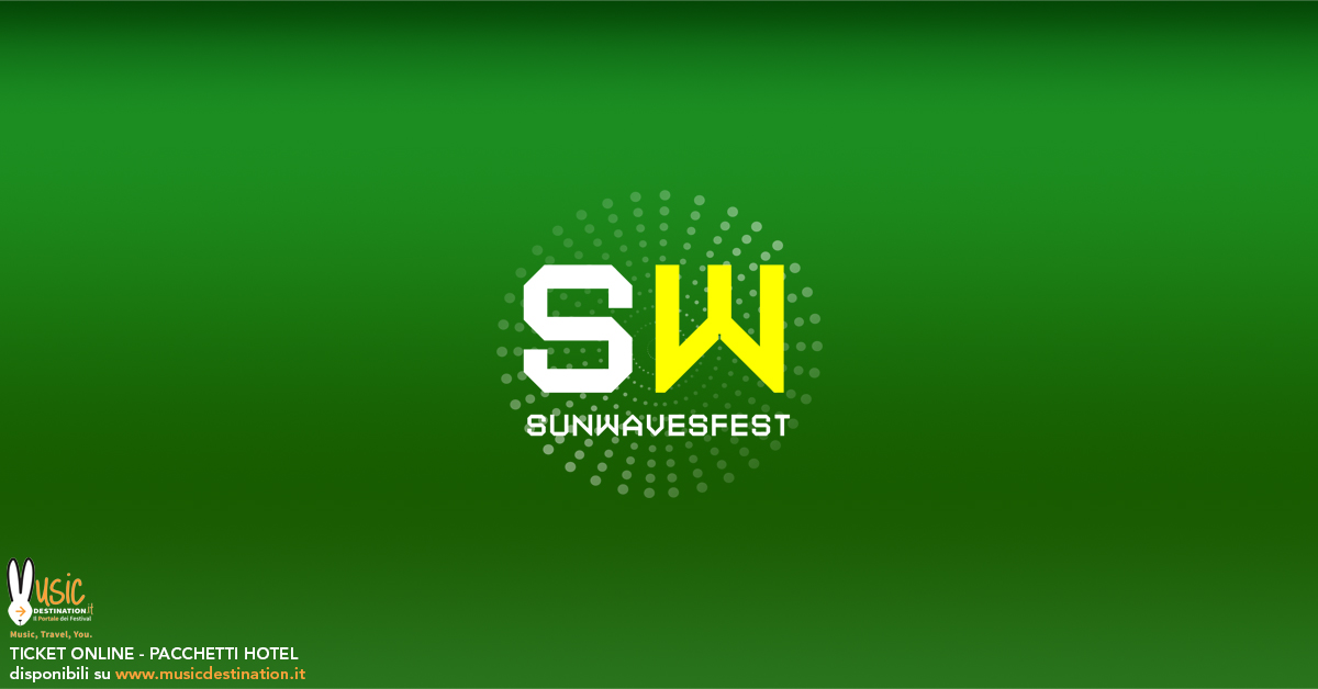 Sunwaves Festival 2019 Mamaia – SW25 Romania – Ticket and Hotel Packages