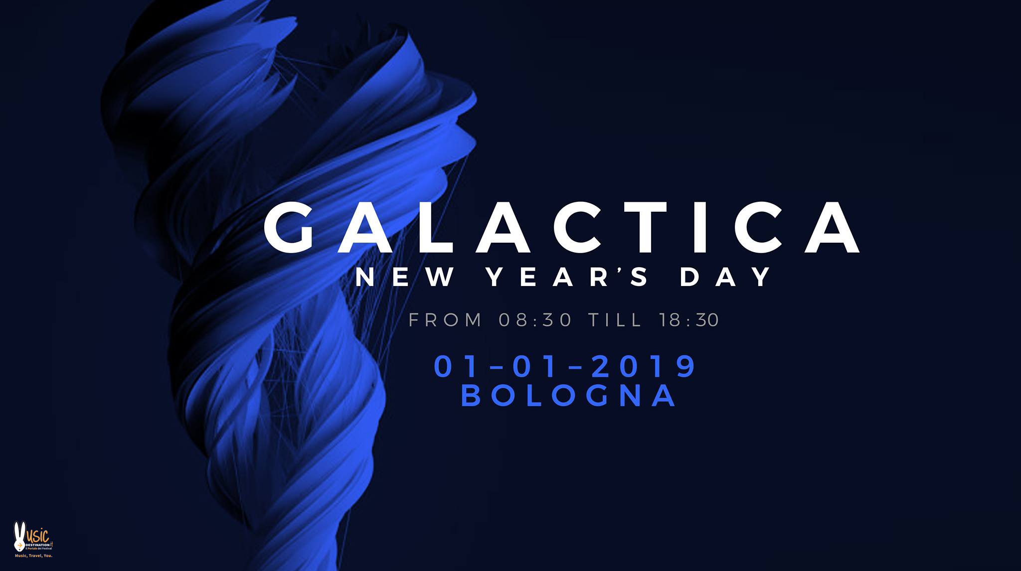 Galactica New Years Day After – 01 Gennaio 2019 Bologna Fiere – Ticket e Pacchetti Hotel